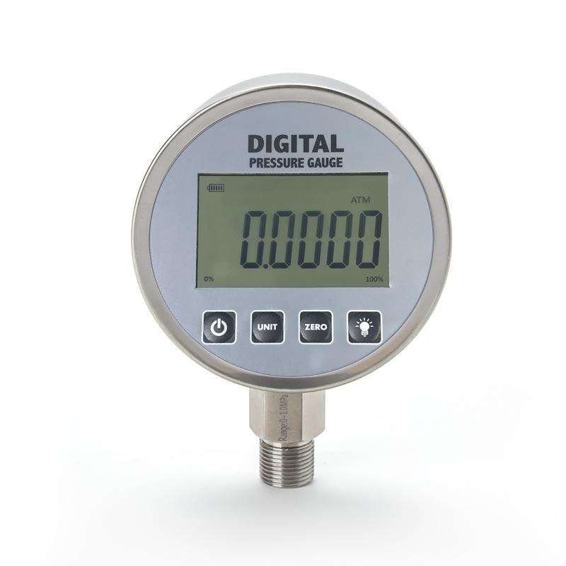High Accuracy Digital Pressure Gauge, 100mm Precision Usb